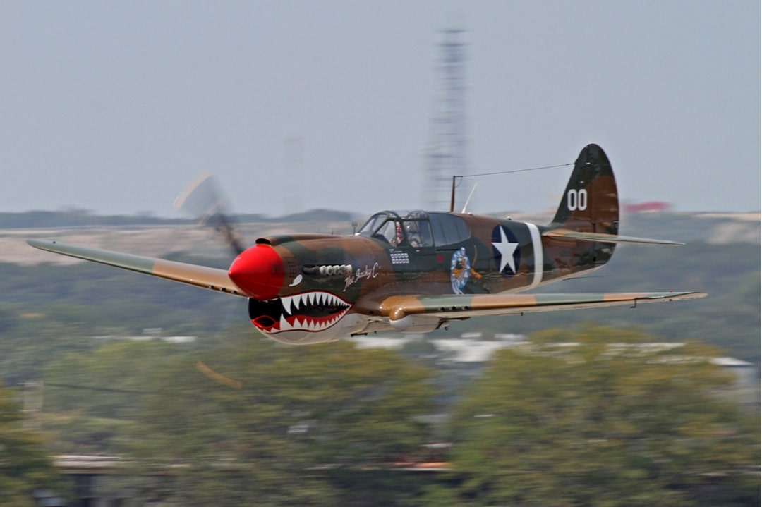Curtiss-Wright-P40-Warhawk