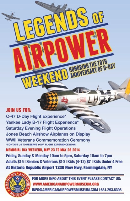 LEGENDS OF AIRPOWER WEEKEND 2014