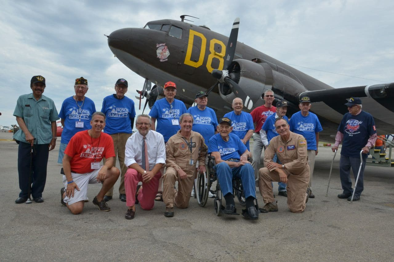 Airpower Museum and Long Island Honor Flight pay tribute to our WWII Veterans
