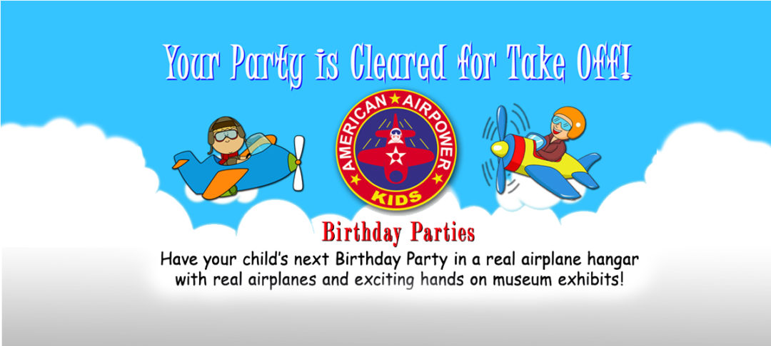 AAM kids Birthday party webslide