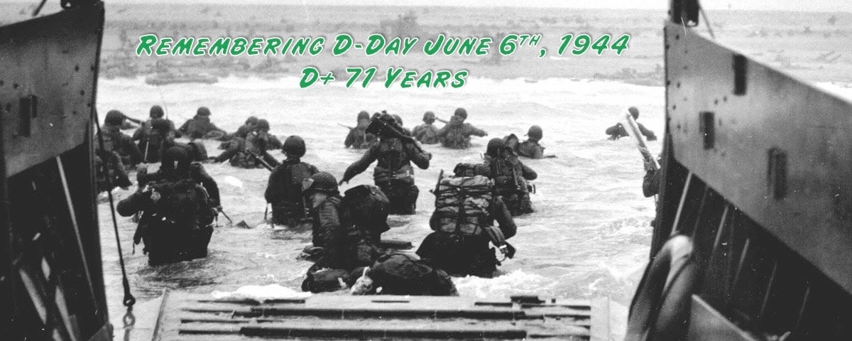 Remembering D-Day June 6th, 1944