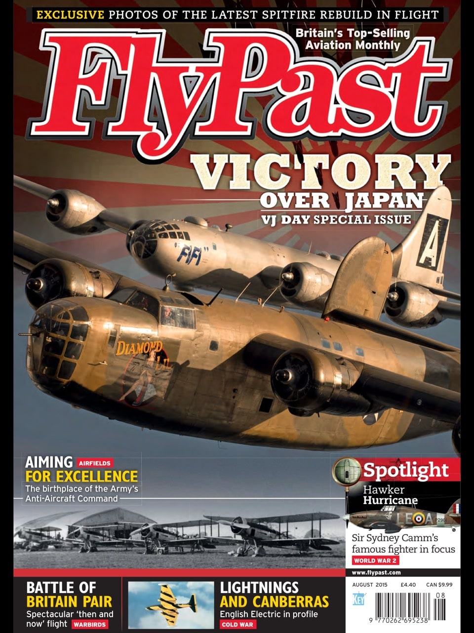 Airpower Museum featured in this summer's Flypast Magazine!