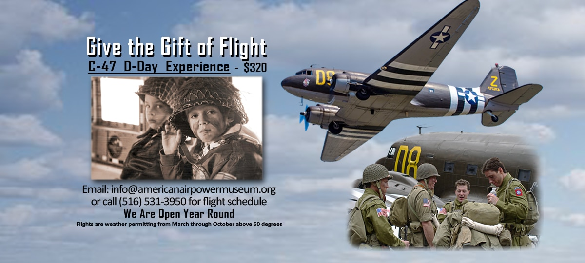 gift of flight c-47