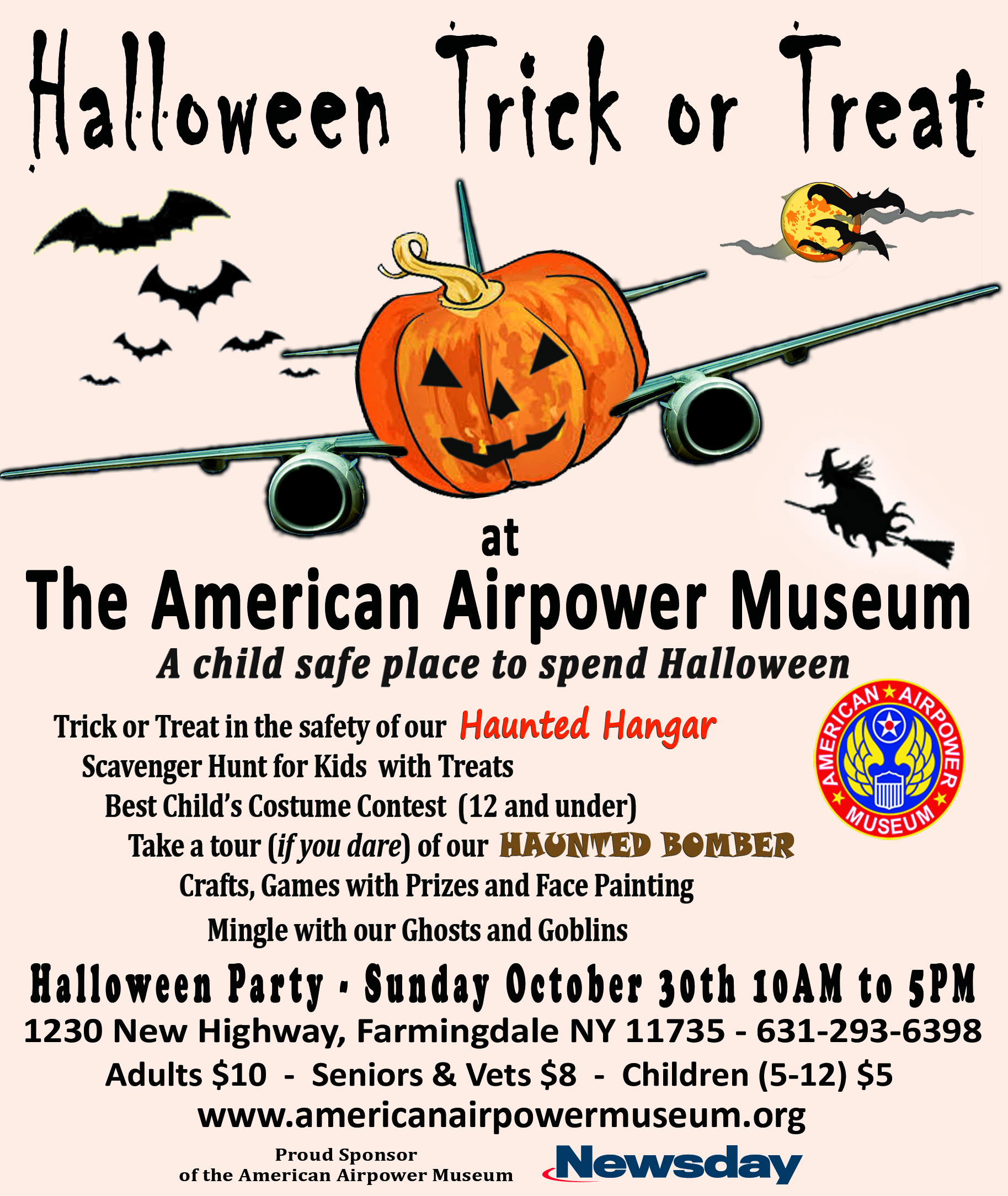 American Scarepower Museum Halloween Party - 2016 - American ...