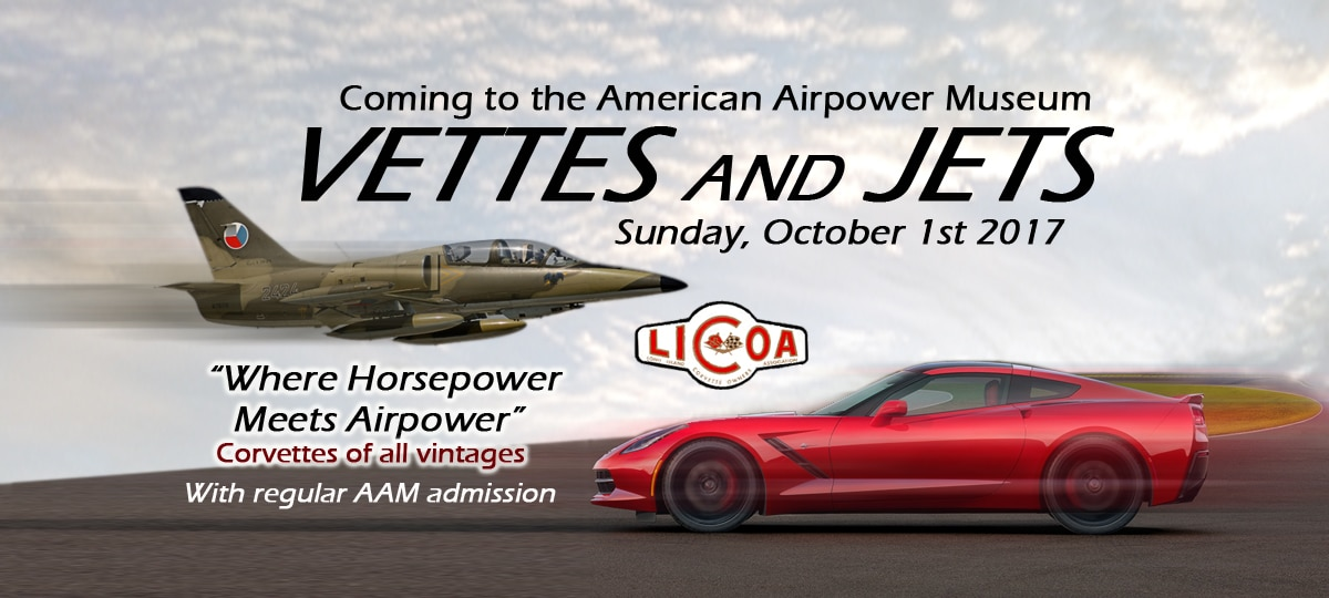 Vettes and Jets 2017 – Corvettes return to the AAM