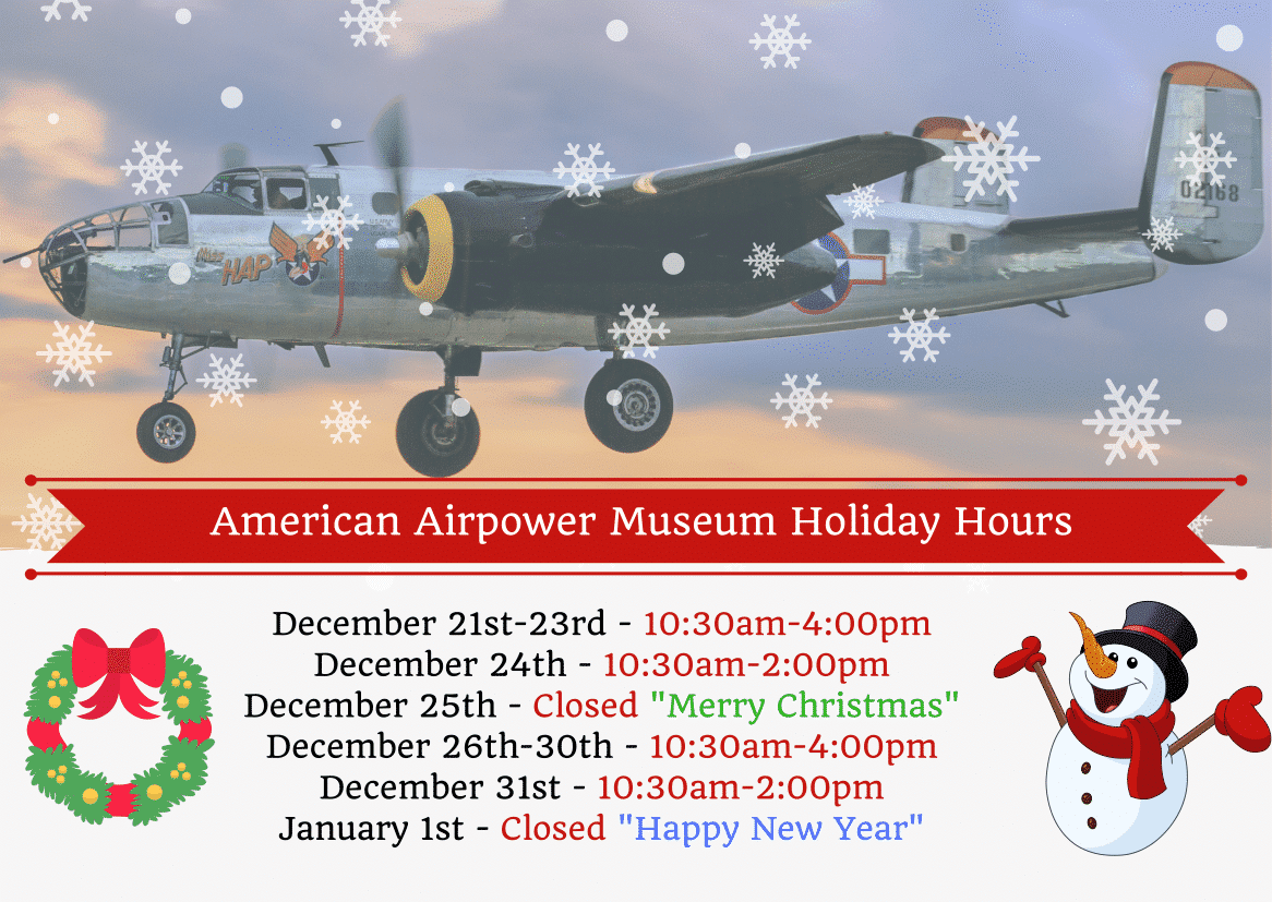 AAM Holiday Hours 2017